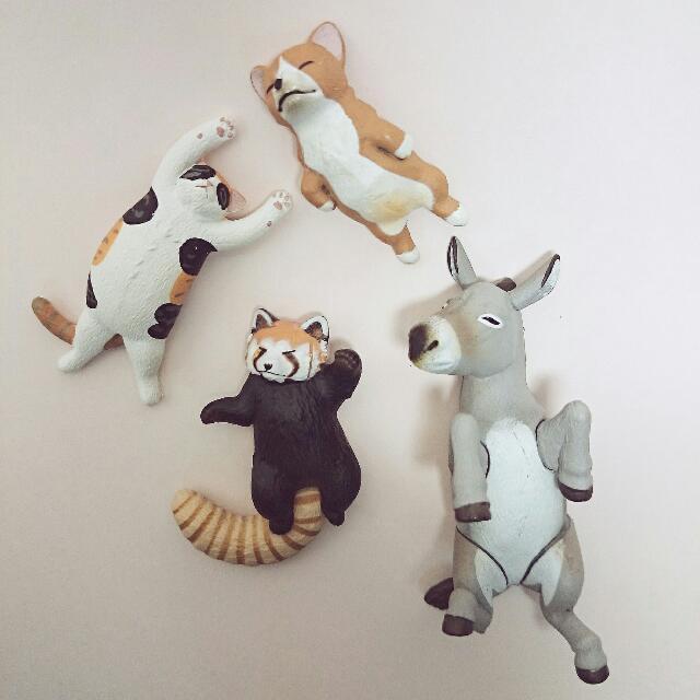 日本_扭蛋_慵懶的動物園_Zoo /  Lazy Animals