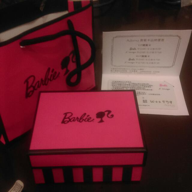 正版芭比Barbie盒子