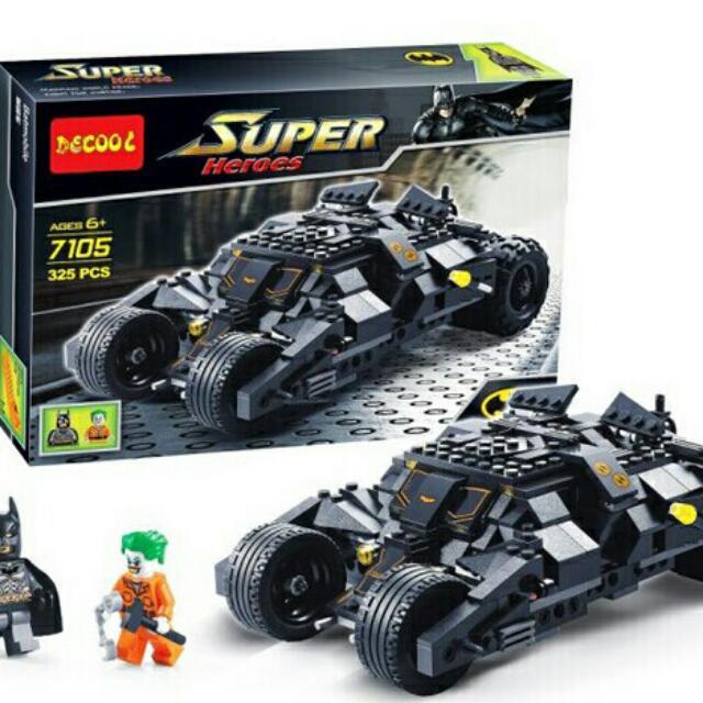 Batman Tumbler By Decool