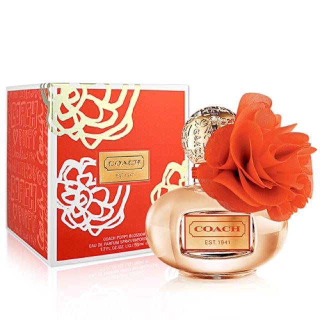 Bnib sealed coach poppy blossom perfume health beauty on carousell photo photo mightylinksfo