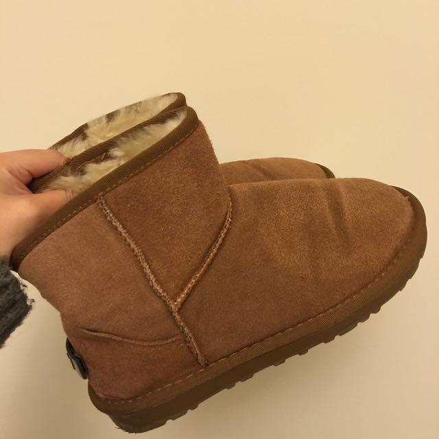 H&M 雪靴 僅試穿(全新)