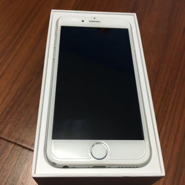 iPhone 6 Silver 16G 已過保 女用機