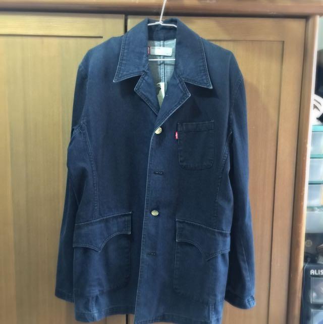 Levi's 牛仔西裝剪裁外套