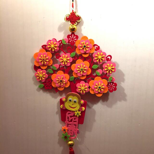 Preorder cny decoration design 2 furniture home on for Ang pow decoration craft work
