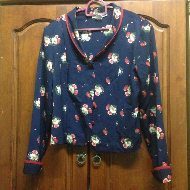 Scarlet Floral Jacket