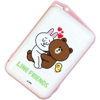 Line Friends『熊大兔兔』長效型暖暖蛋LN-Q13(電子暖暖包)