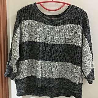 [9成5新]線條毛衣✨