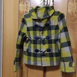 2手短版大衣外套