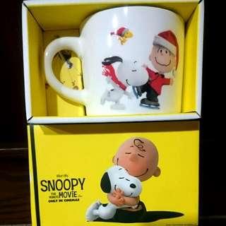 Snoopy電影周邊★聖誕節款馬克杯