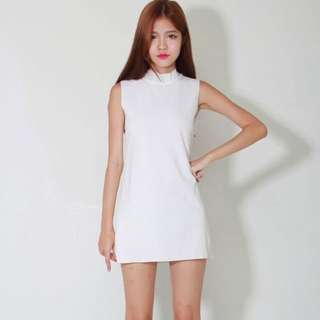 Ashincans White Tunic Dress