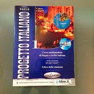 Nuovo Progetto Italiano 1 Textbook