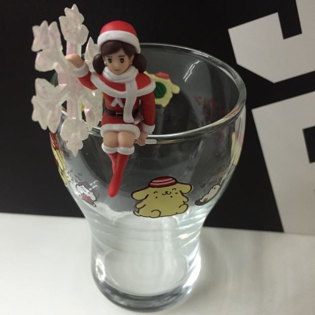 1203✨聖誕雪花杯緣子實拍