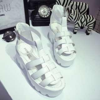 335b80cd886 INSTOCK 37) Cage Platform Sandal   Heel - Stylenanda Inspired