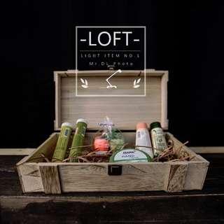 推薦款【Mr.DL】LOFT北歐-多功能可提式木盒 展示 收納 化妝包 工業風 開店生財 交換禮物/聖誕節-優惠中