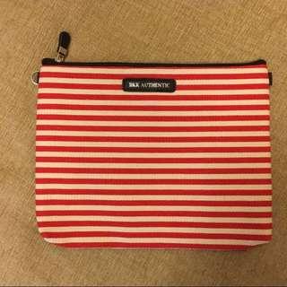 [全新]泰國購入 紅白條紋小包