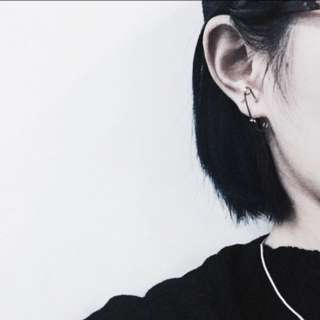 HUNG :: 趣味迴紋針耳飾耳環