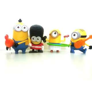 (Reserved) McD Minion Toys