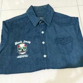 Black Smith 深藍襯衫