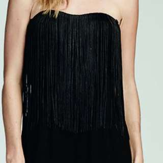 COOPER ST NEW FRINGED JUMPSUIT