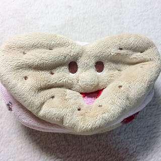 草莓餅乾零錢包/化妝包