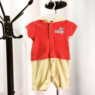 Disney Pooh Bear Baby Suit