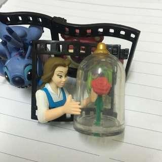 迪士尼 底片 場景 貝兒 公主