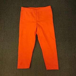 全新 Carter's 18m 紅長褲