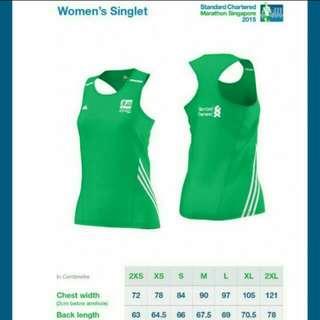 Standard Chartered Women's Running Singlet