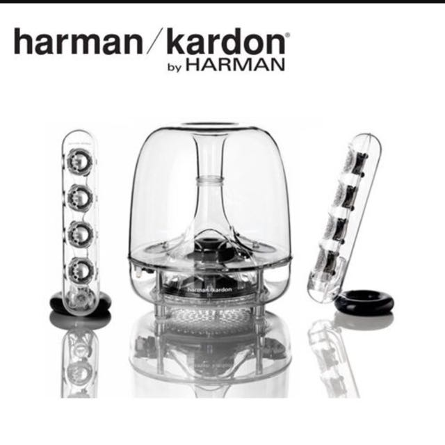 harman/Kardon全新水母音響三代(無藍牙,白色燈光,完整箱裝,保固一年)
