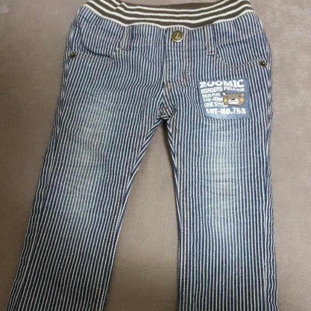 二手日本 Zoomic 牛仔褲