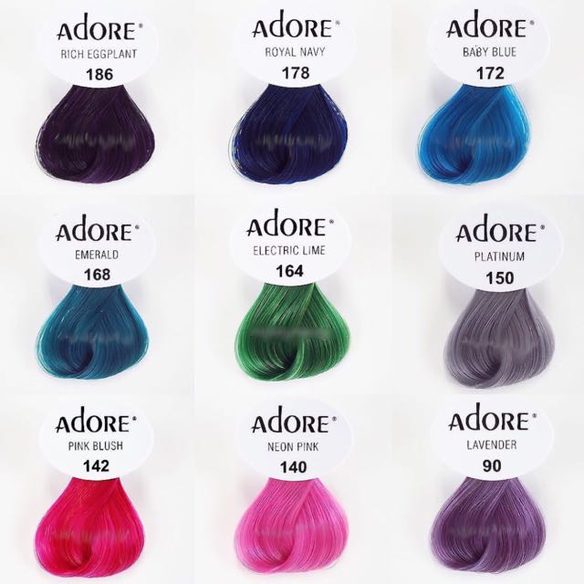 Adore Creative Color Swatch Health Beauty On Carousell