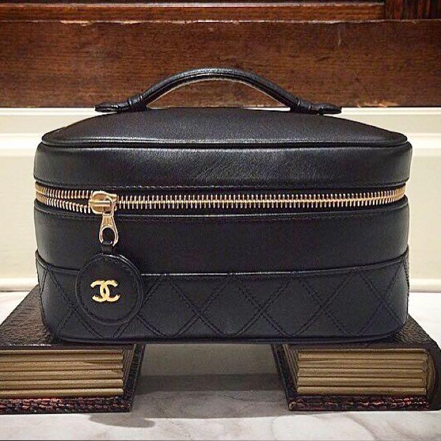 真品 Chanel 化妝箱