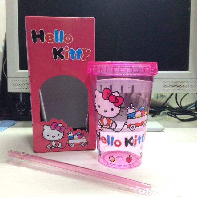 HELLO KITTY 夢想隨行杯 粉色
