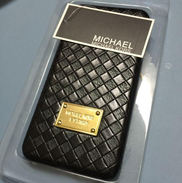 iPhone 6 Plus 黑色菱格手機殼