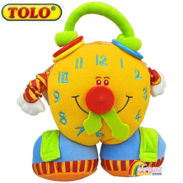 【OWL】德國多樂TOLO 益智兒童大鬧鐘布玩具