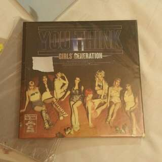 Girls Generation (SNSD) 'You Think' Album Newest