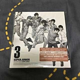 Super Junior 3專輯✨(非新品)