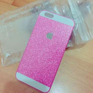 🤓含運。超美粉色 閃亮I6 硬殼 手機殼