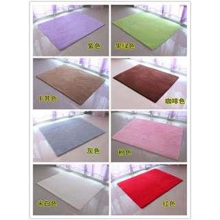 絲毛防滑地毯地墊80*160cm