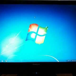 View Sonic  22吋液晶螢幕