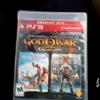 God Of War Collection 1 And 2