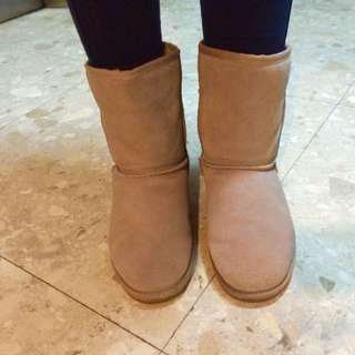 SENSE 1991 保暖駝色雪靴
