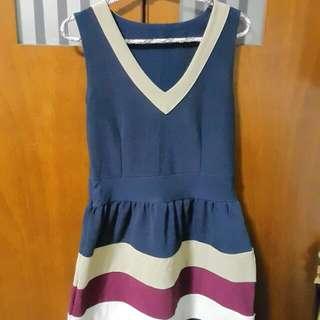 9.9成新學院風洋裝
