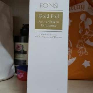 FONSI微金活氧去角質 保留中