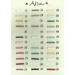 選擇屬於自己的顏色吧🌈