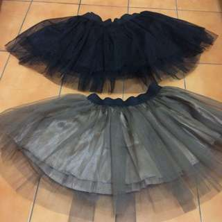 全新📢黑短紗裙