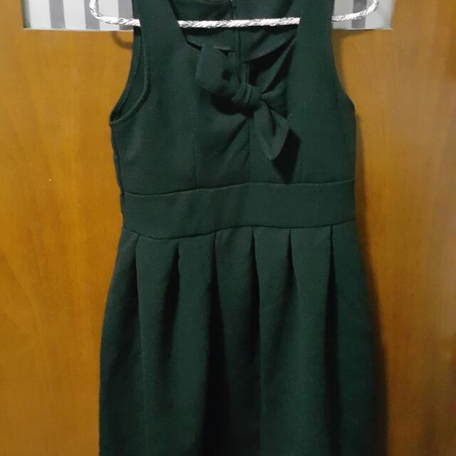 9.9成新超可愛蝴蝶結洋裝