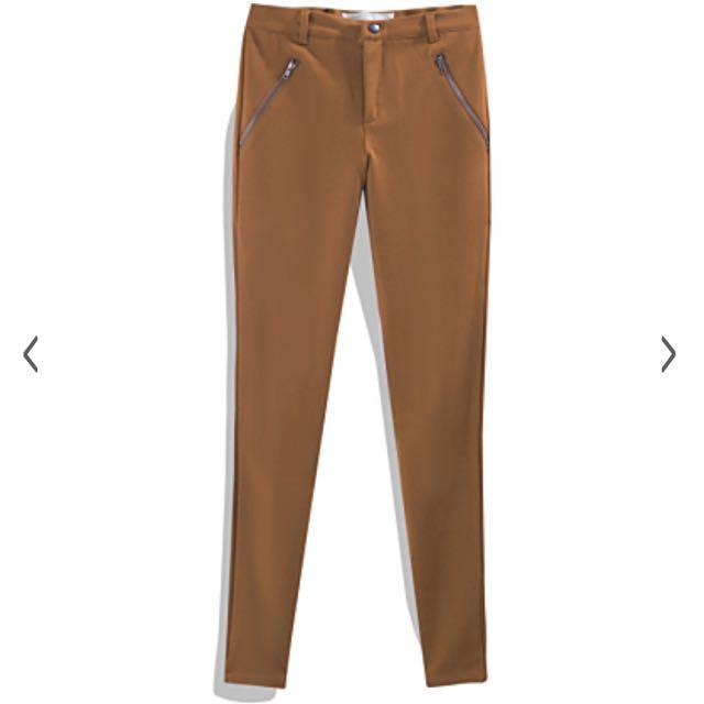 🆕全新未拆標🆕個性簡約彈力窄管褲