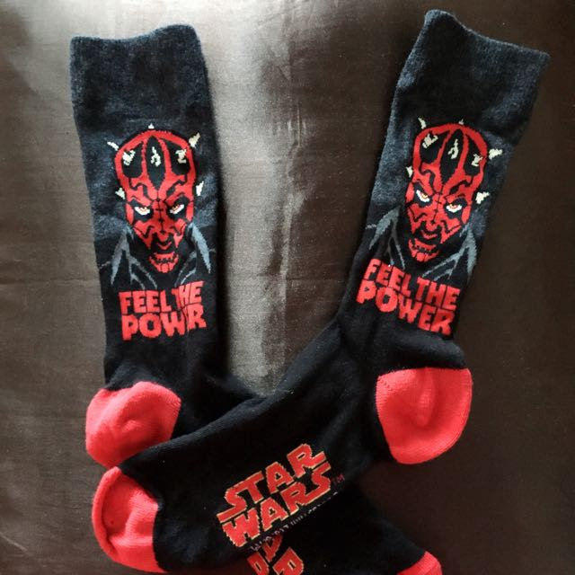 含運🌙星際大戰達斯魔長襪