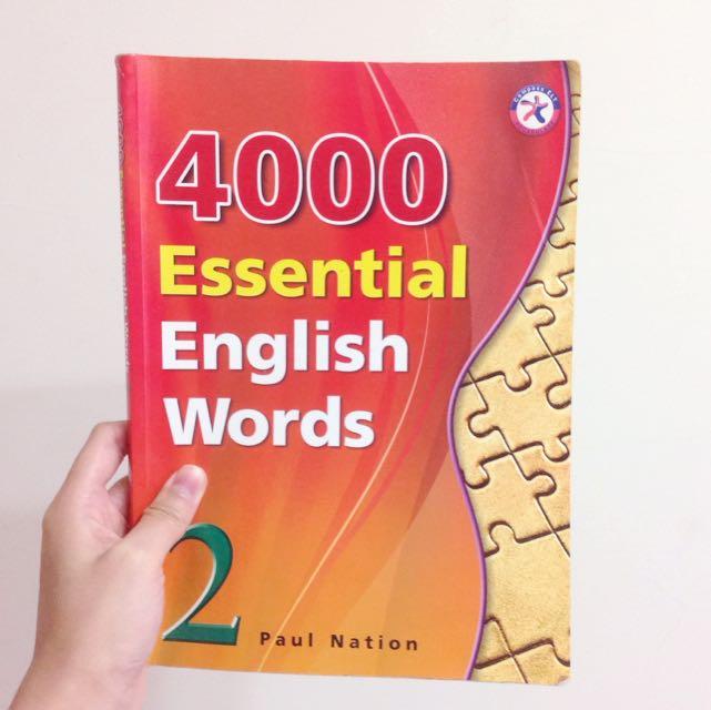 醒吾科技大學 五專部 應英系 原文課本 英文 4000 Essential English Words 2 ( Paul Nation )